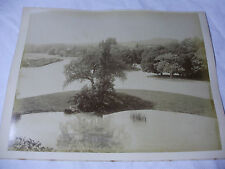 "c1880s PARIS Le Bois de Boulogne 10¾"" x 8½"" Original ALBUMEN PHOTOS"