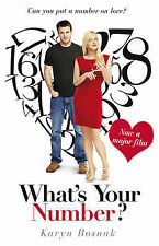 What's Your Number?, New, Bosnak, Karyn Book