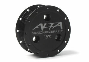 ALTA 15% SUPERCHARGER REDUCTION PULLEY FOR 2002-2008 MINI COOPER S 1.6L S/C R53