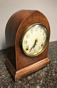antique vintage Seth Thomas mantel clock, working movement and chime, no key