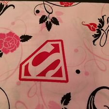 Embroidered Personalized STANDARD Pillowcase Super Girl