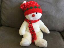 Vintage Retired Ty Beanie Buddy SnowBoy Snowman