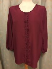 Ladies Long Sleeve Blouse Size 18 BNWT