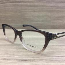 Versace Mod 3220 Eyeglasses Brown Gradient Gold 5165 Authentic 52mm