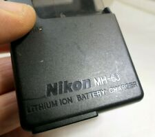 Nikon MH-63 AC battery charger adapter for Coolpix camera genuine original