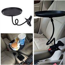 360° Car Black Swivel Mount Holder Travel Drink Cup Coffee Table Stand Food Tray