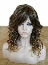 Forever Young Roll With It Wig (Color 24BT18) Long Curly Wavy Alopecia Hair
