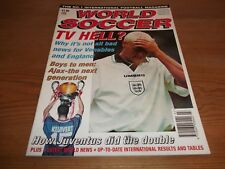 Football Magazine World Soccer July 1995 Ajax Juventus Edmundo Meho Kodro Umbro