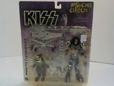 N Mcfarlane KISS Action Figures Psycho Circus COMPLETE Set