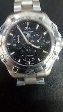 TAG Heuer Aquaracer Chronograph CAF101E Black Dial Quartz Watch