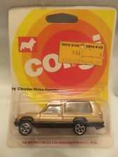 Vintage Corgi 76 Chrysler Matra Rancho Gt Britain Die-Cast Metal Car