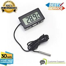 New Digital Thermometer LCD Indoor Outdoor Temperature Meter Car Oil water Temp.