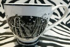 Portobello by Inspire Bone China Coffee Tea Mug Life Doesn't Have to be Perfect