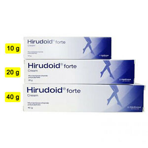 Hirudoid Forte cream Varicose veins Scars bruises Keloid Stretch marks 10/20/40g