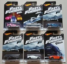 Hot Wheels - Fast & Furious 2018 Complete Set