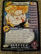 DBZ CCG Dragon Ball Z Goku Super Saiyan BP2 lvl 2 Near Mint non-holo 4 star rare