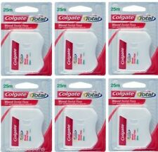 2 Packs of Colgate Total Waxed Dental Floss 25m - FREE SHIP