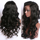 Glueless Lace Wigs Synthetic Hair Lace Frontal Brazilian Remy Curly Wig