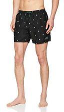 "Hugo Boss ""Catfish"" men's striped swim shorts size L"