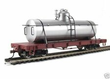 Bachmann Spectrum On30 TANK CAR - SILVER, Painted and Unlettered