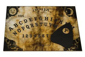 Clasic wooden Ouija Spirit Board game & Planchette with instruction