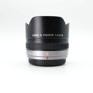 Second Hand Panasonic Lumix G Fisheye 8mm f/3.5 Lens - Mould in Lens