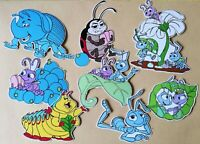 It's A Bugs Life Card Making Toppers - Die Cut 8 Pieces Embellishments