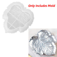 DIY Crystal Epoxy Resin Craft Maple Leaf Ashtray Mold Tray Dish Silicone Mould