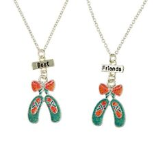 Smiggle Smile Ballet Bff Necklace Pack X2 BN Dance Girls Present Birthday RRP £8