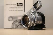 50mm f/2 Leitz Leica Summicron DR Dual Range Close Focus WITH EYes, please read