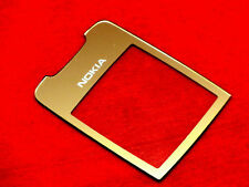 Nokia 8800 Type RM-13 Aussenglas LCD Display Front Glas inkl Kleber Gold