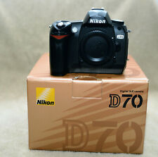 Nikon D70 6.1MP DSLR Camera Body 10279 Shutter Count  + Accessories