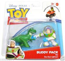Disney Pixar Toy Story Rex Disc Buzz Lightyear Buddy Pack!