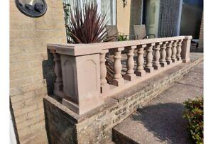 CAST STONE Balustrade / Balustrading / Balustrades / Balusters / Wall  (medium)