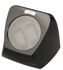Diplomat Double Watch Winder - Black - Bi-Directional Smart Timer Control