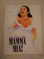 Abba Mamma Mia UK  PROGRAMME London 1999 in vgc