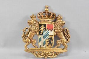 g92f09- Wappen aus Eisen