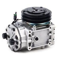 Ac Ac Air Compressor With Clutch For Freighliner Kenworth Peterbilt New York Type