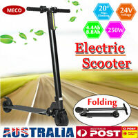 8.8Ah 250W Kids Adjustable Foldable LED Electric Scooter Commuter Bike E-bike