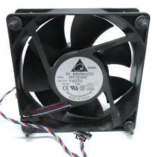 DELTA DC BRUSHLESS FAN, AFC1212DE, 12 VDC, 1.60 AMPS, 3900 RPM, 193 CFM