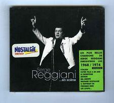 SERGE REGGIANI EN SCENE CD (NEUF) 1968-1974 (L 'ITALIEN VOTRE FILLE MA LIBERTE)