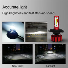 2x Mini H4 LED Cool White Xenon Headlight Wide-range voltage IP68 Weather-proof