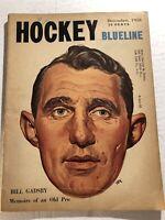 1958 HOCKEY Blueline New York Rangers BILL GADSBY Toronto Maple Leafs JOHN BOWER