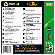 Sunfly Karaoke Hits Volume 337 CDG 18 Chart Tracks SF337 CD+G Free UK Delivery