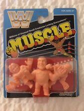 M.U.S.C.L.E. WWF WWE Mattel Retro Figures Andre Macho Man Piper MOC Super7 SDCC