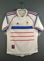 4.2/5 France soccer size XS / S 1998 2000 away shirt football Adidas ig93