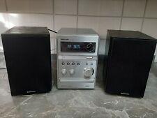 Kompakt Stereoanlage Panasonic SA-PMX3 / Radio, CD und USB inkl. Boxen