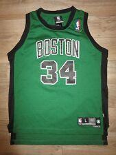 Paul Pierce #4 Boston Celtics NBA Finals Reebok Jersey Youth L 14-16 children