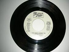 Rare Disco 45 Theo Vaness - I Can't Dance Without You / Thank God... VG+ 1979