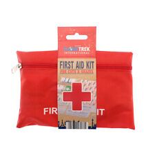 Globetrek First Aid Kit For Cuts and Grazes Basic Plaster Bandage Camping Travel